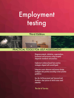 Employment testing Third Edition