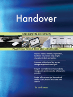 Handover Standard Requirements