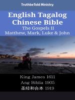English Tagalog Chinese Bible - The Gospels II - Matthew, Mark, Luke & John