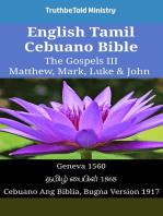 English Tamil Cebuano Bible - The Gospels III - Matthew, Mark, Luke & John