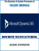 The Business & System Processes of Human Resources Module for Ax Discrete Manufacturing