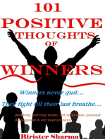 101 Positive Thoughts Of Winners!