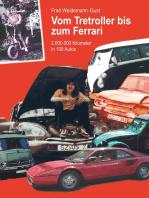 Vom Tretroller bis zum Ferrari: 2.000.0000 Kilometer in 100 Autos