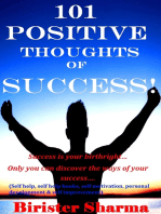 101 Positive Thoughts Of Success!