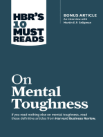 "HBR's 10 Must Reads on Mental Toughness (with bonus interview ""Post-Traumatic Growth and Building Resilience"" with Martin Seligman) (HBR's 10 Must Reads)"