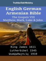 English German Armenian Bible - The Gospels VIII - Matthew, Mark, Luke & John