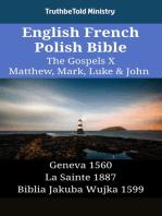English French Polish Bible - The Gospels X - Matthew, Mark, Luke & John