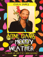 """Nine Days of Moody Weather: """"A Book of Poetic Expressions"""""""