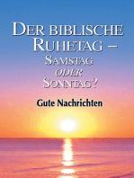 Der biblische Ruhetag