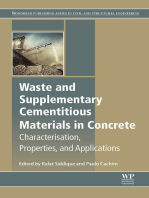 Waste and Supplementary Cementitious Materials in Concrete: Characterisation, Properties and Applications
