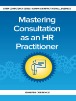 Mastering Consulting as an HR Practitioner