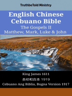 English Chinese Cebuano Bible - The Gospels II - Matthew, Mark, Luke & John