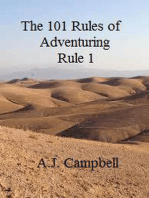 The 101 Rules of Adventuring- Rule 1