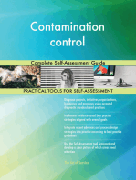 Contamination control Complete Self-Assessment Guide