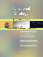 Functional Strategy Standard Requirements