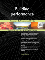 Building performance Complete Self-Assessment Guide
