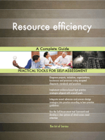 Resource efficiency A Complete Guide
