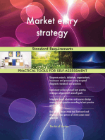 Market entry strategy Standard Requirements