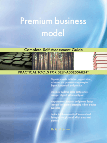 Premium business model Complete Self-Assessment Guide