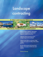 Landscape contracting A Clear and Concise Reference