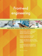 Front-end engineering Standard Requirements