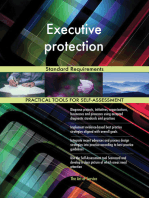 Executive protection Standard Requirements