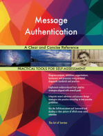 Message Authentication A Clear and Concise Reference