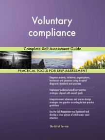 Voluntary compliance Complete Self-Assessment Guide