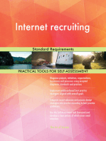Internet recruiting Standard Requirements