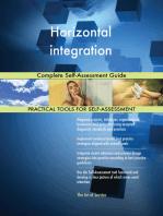 Horizontal integration Complete Self-Assessment Guide