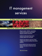 IT management services A Clear and Concise Reference