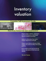 Inventory valuation Complete Self-Assessment Guide