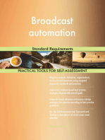 Broadcast automation Standard Requirements