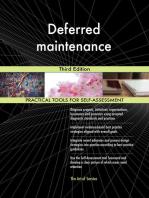 Deferred maintenance Third Edition