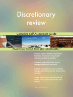 Discretionary review Complete Self-Assessment Guide