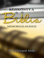 Kézikönyv A Biblia Memorizálásához