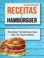Receitas de Hambúrguer