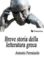 Breve storia della letteratura greca