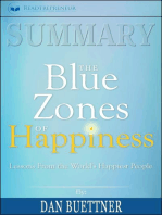 Summary of The Blue Zones of Happiness