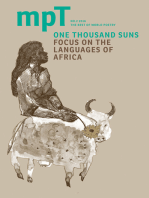 One Thousand Suns 2016: MPT No. 2 (Modern Poetry in Translation, Third Series)
