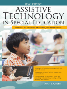 Assistive Technology in Special Education: Resources for Education, Intervention, and Rehabilitation