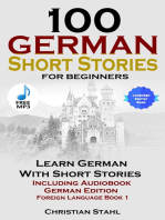 100 German Short Stories for Beginners Learn German with Stories Including Audiobook German Edition Foreign Language Book 1