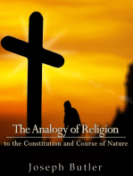 The Analogy of Religion to the Constitution and Course of Nature