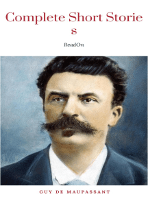 Short Stories of de Maupassant (International Collectors Library)