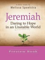 Jeremiah - Women's Bible Study Preview Book