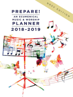 Prepare! 2018-2019 NRSV Edition: An Ecumenical Music & Worship Planner