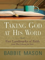 Taking God at His Word Preview Book