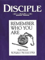 Disciple III Remember Who You Are