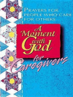 A Moment with God for Caregivers