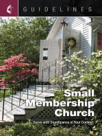 Guidelines Small Membership Church